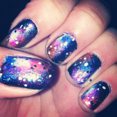 Galaxy nails ♥