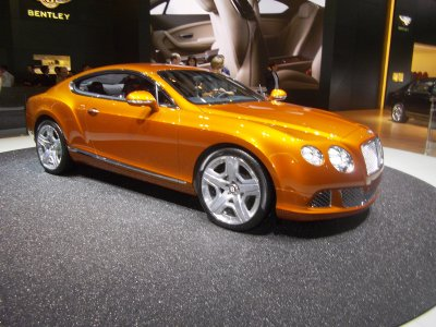 Bentley the new continental GT