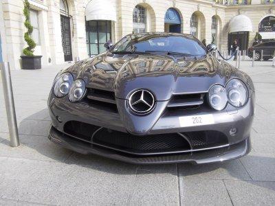 Mercedes mclaren  slr 722S