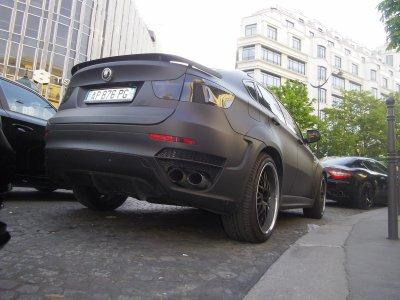 BMW B5 ALPINA et  CLR X650 GT