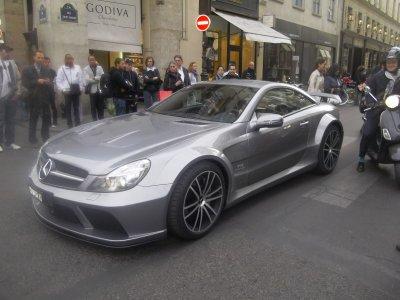 Mercedes SL65 AMG Black serie