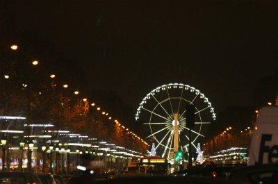 Descente des Champs élysées