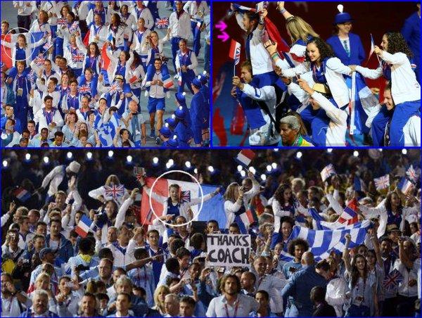 Cérémonie de Clôture des Jeux Olympiques