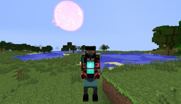 Jowarlordof sur minecraft avec un cheval minecraft - Cheval minecraft ...