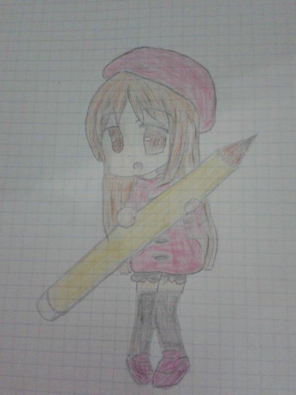"""Dessin 11 """"Crayon géant"""""""