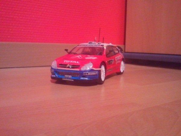 Citronëne Xsara wrc Sébastien Loeb ( maquette)