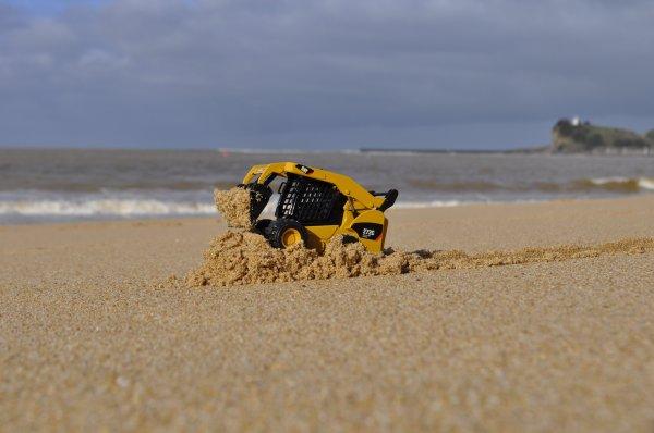 Un peu d'efforts sur la plage ...