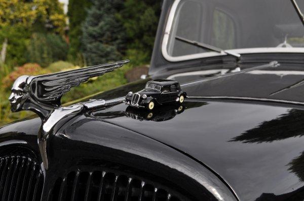 La miniature et la voiture de mon frère décédé... il aurait tant aimé se balader dans la nature avec sa voiture !!!