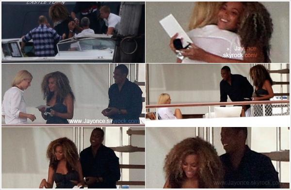 jayoncé (c) 05/09/11 : Gwyneth Paltrow a invité Jay et Beyoncé à venir lui rendre visite sur son yacht à Venise en Italie. jayoncé (c)