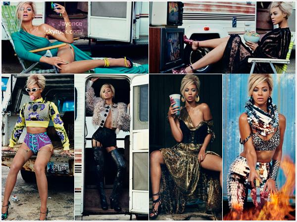 . Photoshoot : En attendant des news du couple, voici un photoshoot Beyoncé posant pour l'édition du mois de Juin 2011 du « Dazed & Confused Magazine ». → Ce shoot est l'un de mes préféré de Bee, j'adore ! Et toi ? .