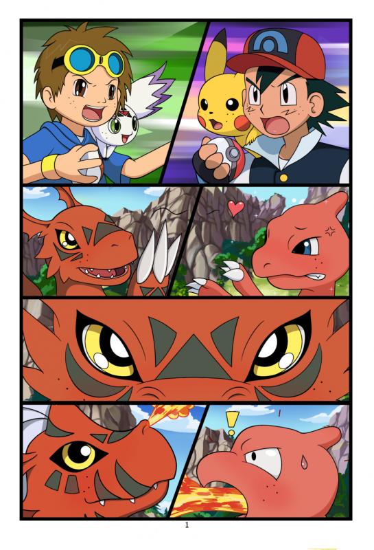 Article fun: Digimon vs Pokemon