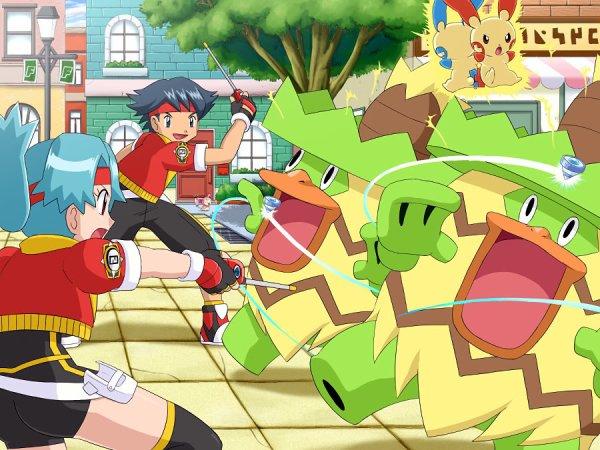 Pokémon Rangers sur DS