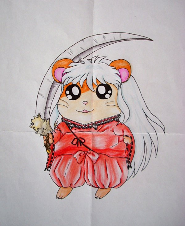 Mes dessin Hamtaro...