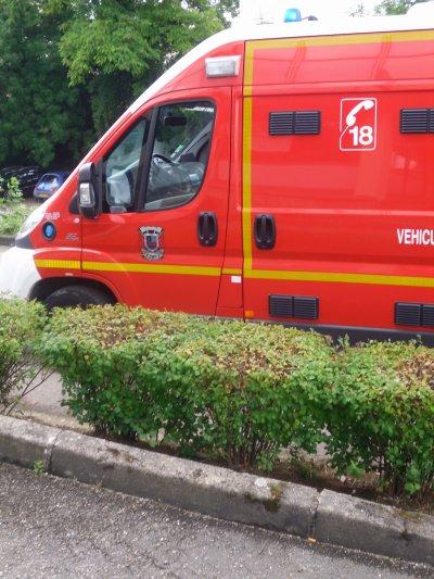 VSAV fiat CSP Besançon
