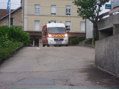 VSAV fiat CSP Besançon en inter