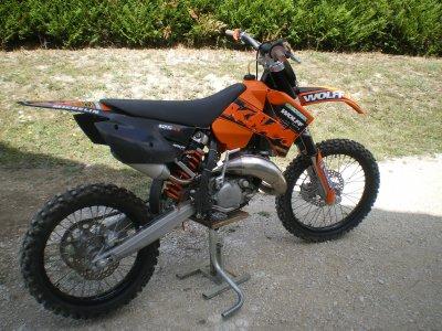 motocross a vendre 125cc