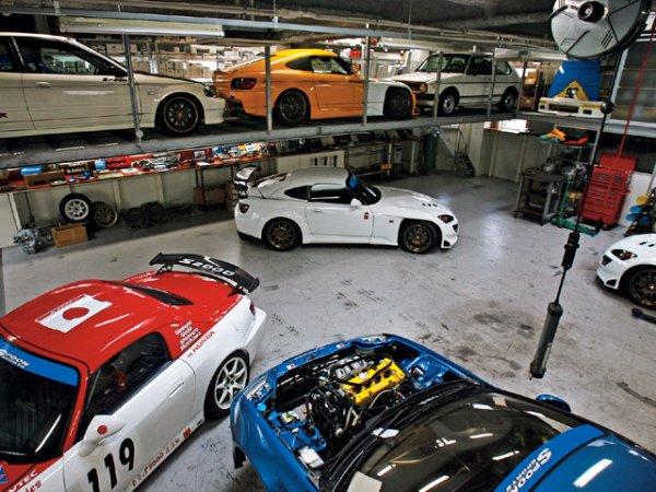Spoon Sport Japan Team Car