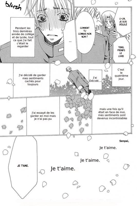 Scan français de Sekaiichi Hatsukoi (partie 1)