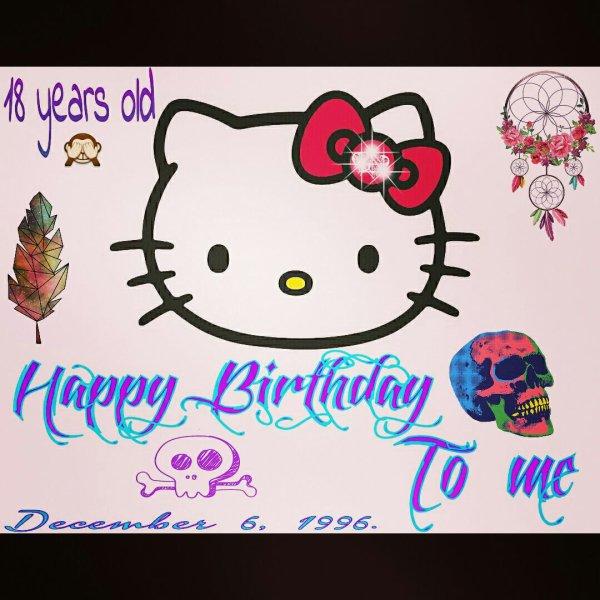 Happy Birthday To Me ahah!