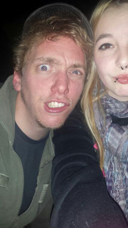 Drunk selfie. ✌