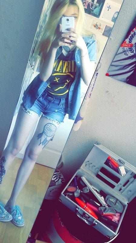 Nirvana ootd ~