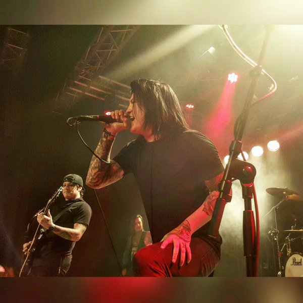 Escape The Fate: concert à Zurich [03.02.16]