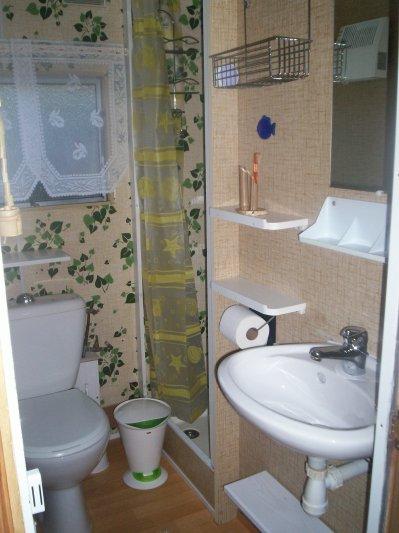 BAMBOU , petite salle d\'eau ... - LOCATIONS SAISONNIERES \
