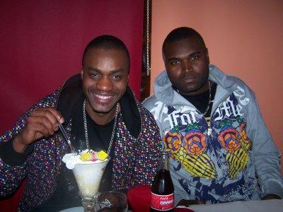 LAYONE aka le philosophe du rap français et moi-même BABABABABABAZOR