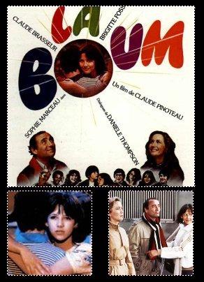 Zoom sur La Boum  With Sophie Marceau, Claude Brasseur, Brigitte Fossey