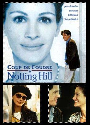 Zoom sur Coup de foudre a Notting Hill  avec Hugh Grant, Julia Roberts, James Dreyfus