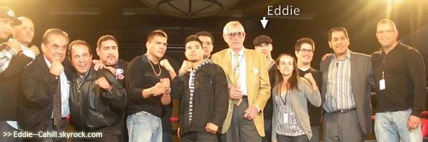 "*  Eddie au ""Thompson Boxing Show"" le 04.11.2011 *"