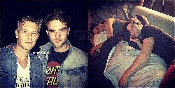 03/03/2014 : Nathaniel sur le tournage du pilote de Supernatural : Tribes à Vancouver. (+) Photo Instagram.