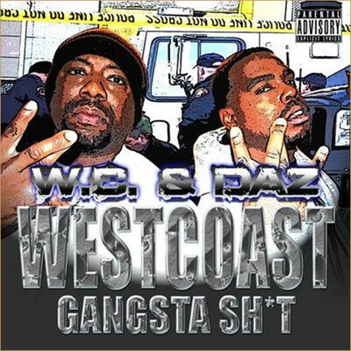 WC & Daz Dillinger – West Coast Gangsta Shit (cover)