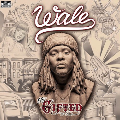 Wale – The Gifted (cover & tracklist avec featurings)
