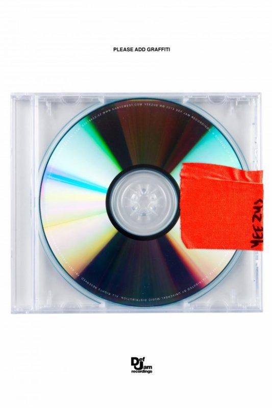 Kanye West – Yeezus (cover & tracklist)