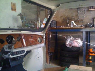 Tableau De Bord Ma Première Restauration Dune Austin Mini