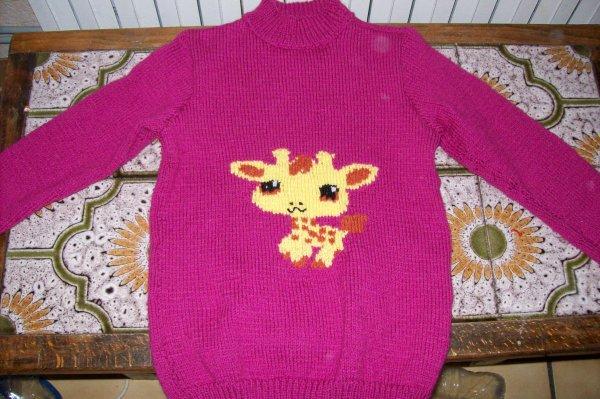 pull girafe pet shop 6 ans