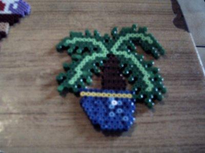 palmie en perle hama