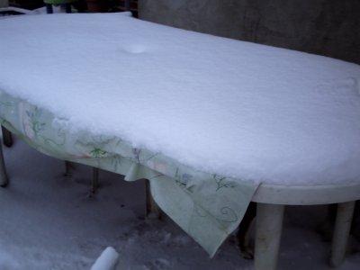 voila d'autres photos de la neige du 2 decembre 2010