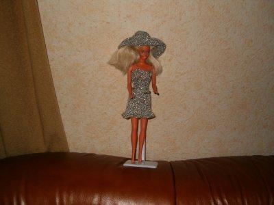 robe tricoter pour poupee barbie