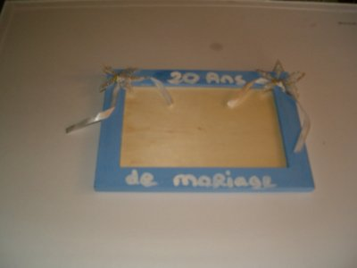 SUITE DES CADEAUX POUR MES 20 ANS DE MARIAGE