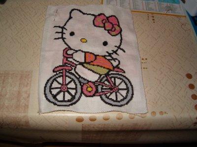 VOILA LES BELLES BORDERIES DE HELLO KITTY