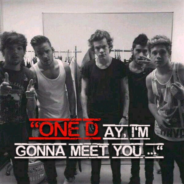 Chapitre 2 : One day I'll meet you