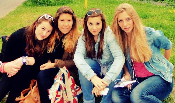 Florine, Inès, Margaux, Julie ♥♥