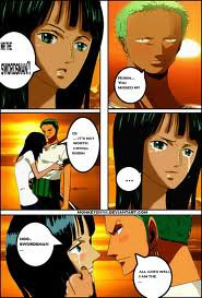 Romantic love Zoro & Robin