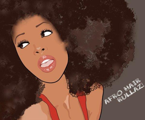 Afro Afro love yo