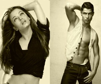 c.ronaldo and aishwarya rai