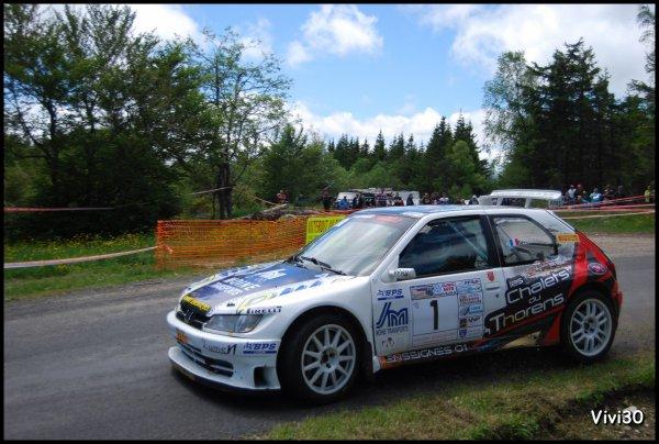Rallye de L'Esculape - Bagnols les Bains 2013