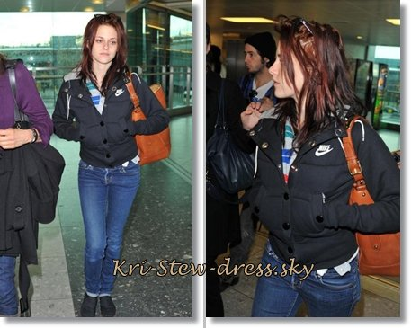 "Catégorie : ""Street Time""  ©  Kristen et sa célèbre veste Nike : "" Kristen Stewart style everywhere, everyday with Kri-Stew-dress "" ©"