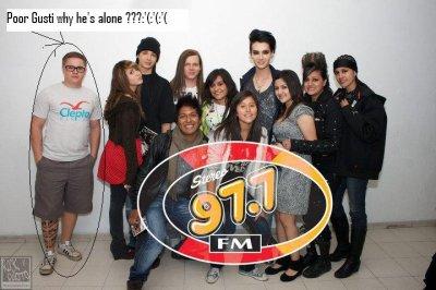 Aucun membre de Tokio Hotel ne doit se sentir isolé!!
